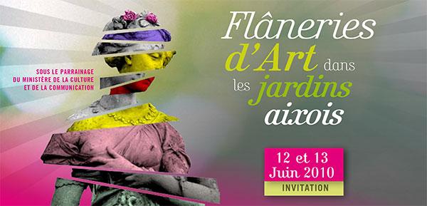 «Flaneries d'Arts dans les jardins aixois»